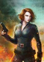 Black Widow by Vanni01