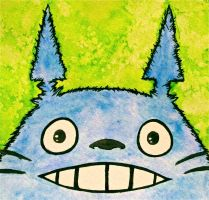 Totoro by Trista-Willows