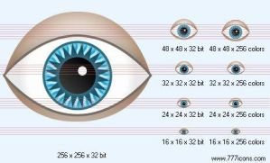 Eye Icon by medical-icon-set
