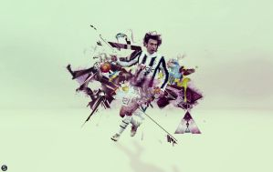 Pirlo /// wallpaper /// sC by epro-creative