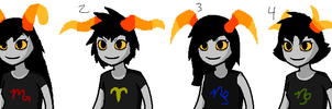 Growable Homestuck Grub Adopts - CLOSED by Twine-Adopts