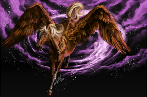 .:Flying Pegasus:. by WhiteSpiritWolf