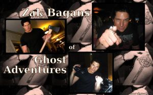 Zak Bagans Desktop Background2 by MaeMarshmellow