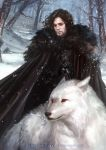 Game of Thrones: Jon Snow by hart-coco