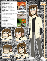 Quotev Character Sheet by anatineEclectic
