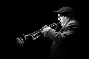 Randy Brecker by grebille