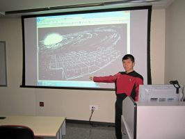 Halloween 2012: TNG Mission Briefing by galaxy1701d