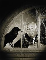 Alfred Hitchcock by foltl