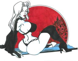 Lady Death by mikehegaman