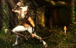 The Willow Faun by Niekra