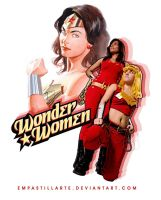 Wonder Women by empastillarte