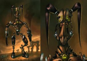 DNA-Enhanced Cyborg-Rabbit by Cane-force
