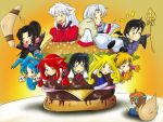 Inuyasha's Club Sandwich by SESHOYASHAJUNIOR