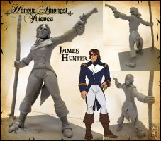 Maquette - James Hunter by Quarter-Virus