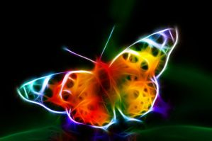 Fractal Butterfly 2 by MiniMoo64
