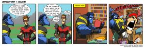 ARTFRENZY STRIP 1 - COLLECTED by Sabrerine911