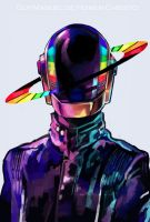 Daft Punk by Arrrkal