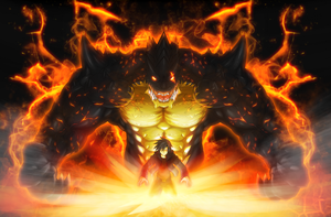 The Beast Within by WarGreymon43