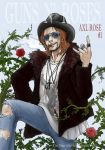 Guns N' Roses - Axl Rose by NISINsheep