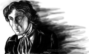 Paul McGann- Deep in thought by DalekMercy