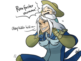 Pokemon OC: Momma times by ky-nim