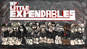 My Little Expendables by malamol