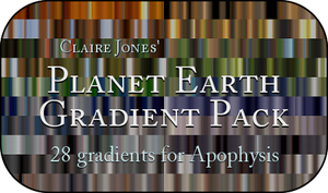 Planet Earth Gradient Pack by ClaireJones