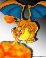 Charizard fire... by Photo-Freak7