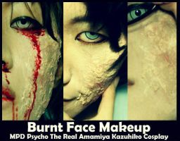 Tutorial: Burnt Face MPDPsycho Cosplay by ero-de