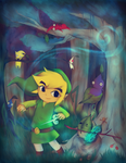 The Legend of Zelda and the Mysterious Pikmin by Suikasen