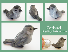 Catbird - Gift by Bittythings