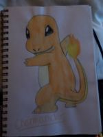 Charmander by RoxasNamineForever