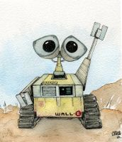 Wall-E by XNegativecreepX