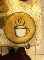 Coffee Cup Latte by Coffee-Katie