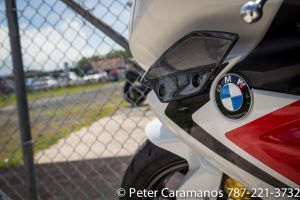 BMW Motorcycle at the track by Caramanos2000