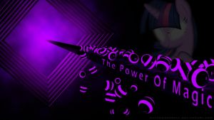 Twilight Sparkle 3D Wallpaper by IIThunderboltII
