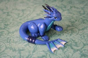 Water Tribe Dragon 2 by redninjacreations