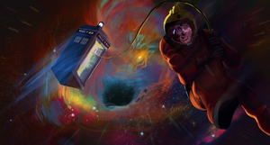 Saving the Tardis by amidarosa