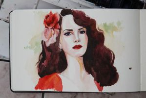 Art of Lana Del Rey_2 by katzzen