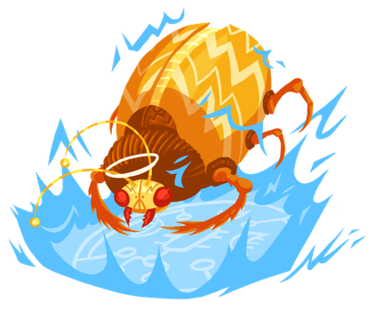 DnD 110: Celestial Fire Beetle by ExitStageLeft