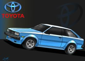 Toyota Corolla Hatchback by Drawer888