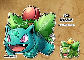 #02 Ivysaur by cartoonist