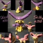 Clay Delcatty and Skitty by hamner