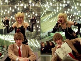 Light and Misa Day in the Life by Laurentea