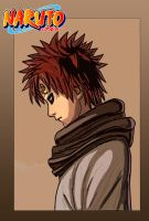 Gaara of the Sand by ZombieBear