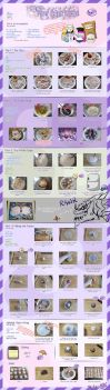 Taro Cake Tutorial by Laikari