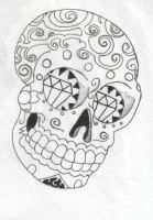 Sugar Skull by inthedoorway