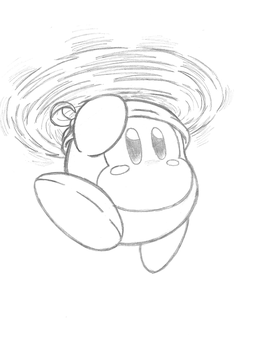 Spear Copter Away! (Bandana Dee Sketch) by Th3AntiGuardian