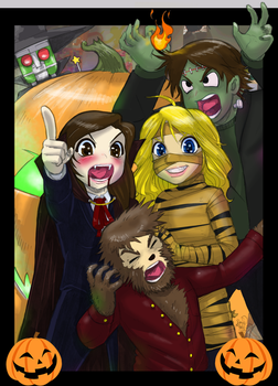 iCarly Halloween 2009 by sykoeent