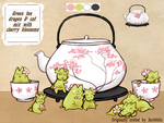 Custom-Teababies for Grasssatrand by scribblin